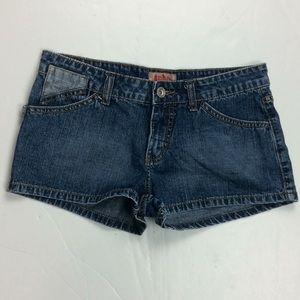 Nobo Womens 100% Cotton Denim Shorts Jr Sz 7